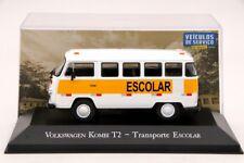 1:43 Altaya Volkswagen Kombi T2 Transporte Escolar Diecast Models Car Collection