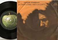 GEORGE HARRISON MY SWEET LORD & IS`NT IT A PITY DANISH 45+PS 1970 APPLE BEATLES