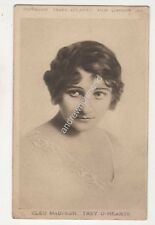 Cleo Madison Trey O Hearts Actress Hippodrome Cardiff Vintage Postcard 685b