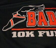 BADGER FUN RUN 10K Winged Foot TRACK T Shirt Jersey Fast FREE Shipping size XL