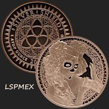 2017 Silver Shield MiniMintage Series La Muerte del Dólar Copper Round