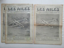 AILES 1939 933 NC-2234 HEINKEL 112-U PZL MOUETTE GUERRE ESPAGNE POU SAHARA ISSY