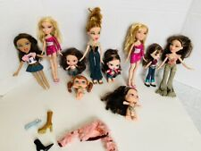 Lot of  Bratz Dolls with Outfit & Shoes, Used, Assorted