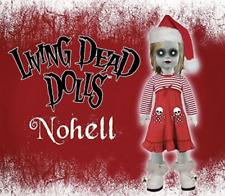 Mezco Living Dead Dolls LDD Exclusive Blonde NoHell 2010 Hot Topic NEW/SEALED!
