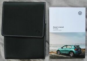 VW T-CROSS OWNERS MANUAL HANDBOOK FOR 2018-2021 CARS REF3134
