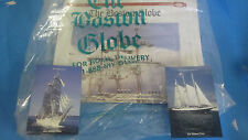 TALL SHIPS- 2000 BOSTON- GLOBE JULY 12TH-  KRUZENSHTERN-RUSSIA COMMEMORATIVE PAP
