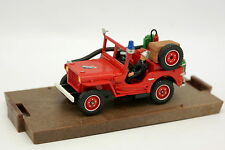 Solido Modifiée 1/43 - Jeep Willys Pompiers du Gard