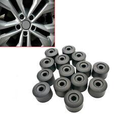 Black ABS Plastic Auto Car Wheel Nut Bolt Cover Cap 17mm Lug Car Accessories x20