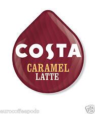 Tassimo Costa Caramel Latte Coffee 24 T Discs 12 Servings Sold Loose