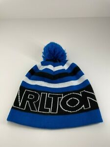 Carlton Dry Beer beanie acrylic large fit with pom pom Fyve