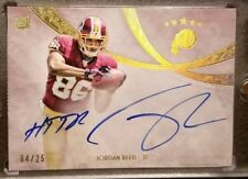 JORDAN REED 2013 TOPPS 5 FIVE STAR RPA 04/25 ROOKIE PATCH QUOTABLE ON CARD AUTO