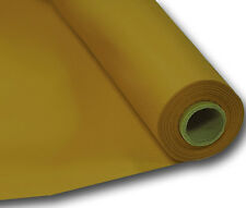 Gold Plastic Years Party Banquet Table Roll Cover - 1m X 30m