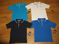 Nautica Boys Rugby Mesh Polo Shirt SIZE 4/5/6/7/7X /M(10-12)/L(14-16)   NWT
