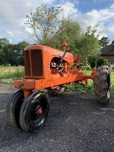 Allis Chalmers WC Vintage Tractor Row Crop Lease Lend Wartime.