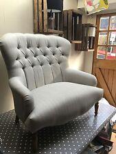 Bampton 2 seater Sofa in Laura Ashley Edwin Dove Grey Herringbone Fabric