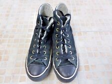 Converse All Star Suede High Top Trainers Mens EU 36.5 UK 4 Black Grade B AB579