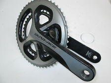 52 / 38 172.5mm Mid-compact Shimano Dura Ace 9000 Crankset Road Cycling
