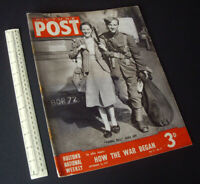 Home Front WW2 Picture Post Hulton Press Photo News Magazine Sept 16 1939