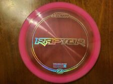 Discraft Raptor Z line Driver - Pink with Silver Holo Stamp 173-174g New