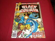 WA1 Black Goliath #4 marvel 1976 bronze age 6.5/fn+ comic!