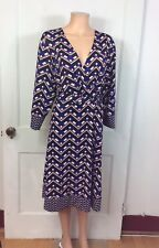 INC International Concepts Wrap Dress Geometric Print Women's 3X
