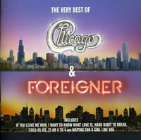 Chicago / Foreigner - The Very Best Of (NEW CD)