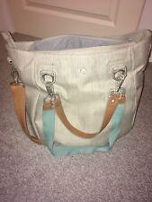 Lassig green label mix & match change bag - light grey