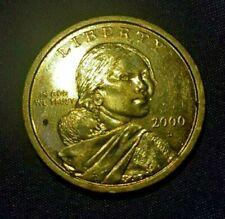 Sacagawea One Dollar Coin, U.S., 2000p