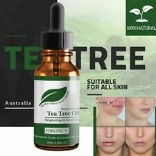 100% Natural Tea Tree Essential Oil Anti-wrinkle Extract Acne Removal Scars Hot