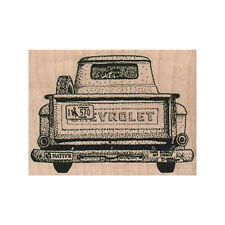 NEW Pickup Truck RUBBER STAMP, Chevy Truck Stamp, Vintage Pickup Truck