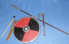 1/6 scale 12' VIKING Gladiator Celtic Warrior Weapons ensamble loose