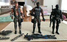 "GI Joe Classified Snake Eyes Gung Ho Roadblock v2 Cobra Island 6"" Complete Lot"