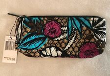 New Vera Bradley Canyon Road Brush & Pencil Case