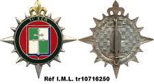 71° Escadron de Circulation Routière, dos guilloché embouti, Drago 2542 (3465)