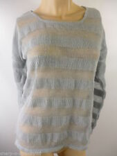 Atmosphere Striped Thin Waist Length Women's Jumpers & Cardigans