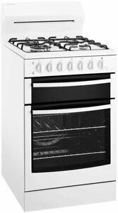 Westinghouse 54cm Freestanding LPG Gas Oven/Stove Model WLG517WBLP RRP $1559.00