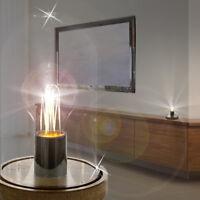 MIA Tisch Leuchte ↥160mm/ LED/ Retro/ Shabby/ Vintage/ Braun/ Rost/ Nacht Lampe