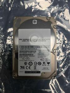 """IBM 900GB SAS 10k 2.5"""" Dual Port 6Gb/s HotPlug Hard Drive ST9900805SS 9TH066-039"""