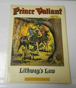 1984 PRINCE VALIANT Lithway's Law v.26 1st Ed. Fantagraphics HAL FOSTER Strips