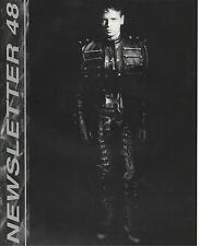 More details for gary numan newsletter no.48 fanclub newsletter 12 pages