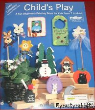 Child's Play - by Miller Combined Artists ~ Decorative Tole Painting Book