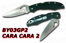 Spyderco Byrd Cara Cara 2 G-10 Plain Edge BY03GP2 *NEW*