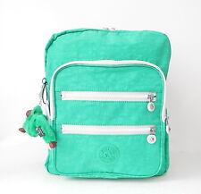 NWT Kipling Kaden Backpack With Furry Monkey Island Green Spectator