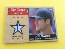 2014 Topps Archives Relics #68TRJM Joe Mauer Minnesota Twins