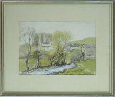 William Edwin Atkinson ARCA OSA (1862-1926) Canadian Listed Antique Watercolor