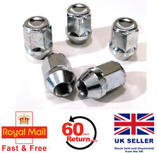 Chrysler VISION alloy wheel nuts M12 x 1.5 taper 19mm Hex set of 5