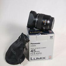 Panasonic Leica DG Macro-ELMARIT 45mm F2.8 ASPH. MEGA O.I.S. H-ES045 Lens