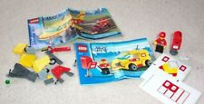 Lego City Transport Mail Van 7731 Lot Minifig, Mailbox, Manual + Pieces for 7732