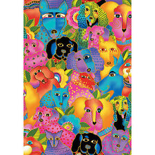 Laurel Burch Dogs and Doggies Packed *Out of Print* 100% Cotton, 1/4 Yd or FQs