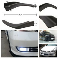 2x Auto Car Front Shovel Bumper Scratch Resistant Body & Exterior Styling Decor